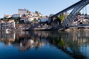 Ribeira and Dom I Bridge from Vila Nova de Gaia - Porto, Portugal - Copyright 2019 Ralph Velasco